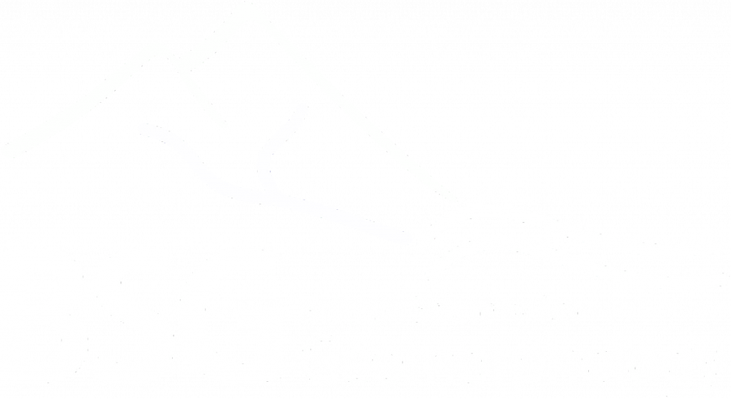 British Society for Geomorphology logo - white
