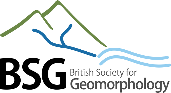 British society for geomorphology logo